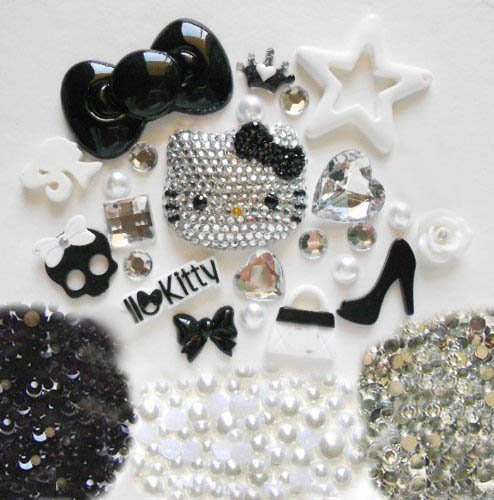 LOVEKITTY - Z376 - DIY 3D Blinged Out Hello Kitty Inspire...