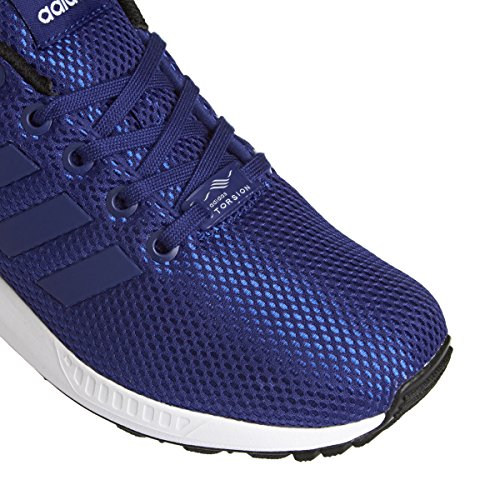 blue adidas white Trainers Flux Men's SPfqSw6