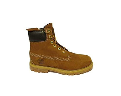 Timberland - botas de nieve de cuero hombre, color Amarillo, talla 43