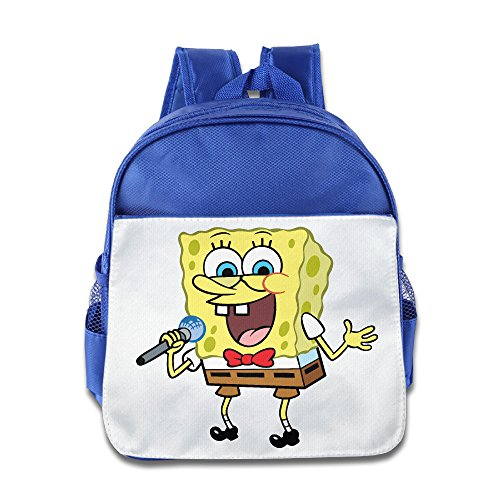 Spongebob Toddler Kids School Bag RoyalBlue