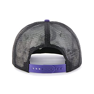 MLB Colorado Rockies Women's Glimmer Captain Adjustable Snapback Hat, Black