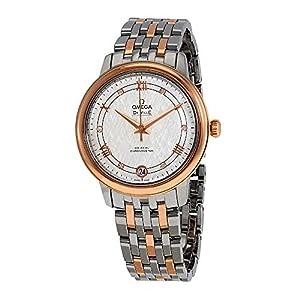 Omega De Ville 424.20.33.20.52.002 - Reloj de acero y oro rosa de 18 quilates para mujer 1