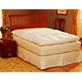 Pacific Coast 155 Feather Bed Cover With Zip Closure - Twin by Pacific Coast