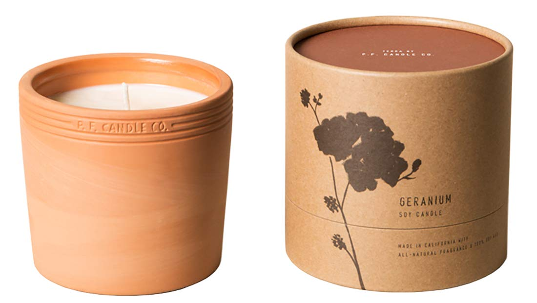 Terra by P.F. Candle Co. (Geranium 17.5 oz)