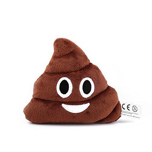 Mini Emoji Kissen Emoticon, Kackhaufen Emoji, Mitbringsel, Geschenk
