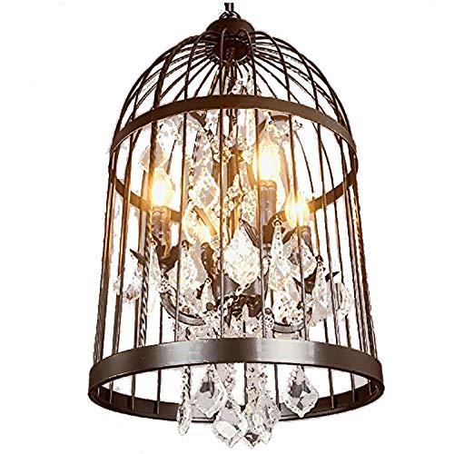 Amazon.com: Amberlight Vintage araña de vidrio colgante de ...