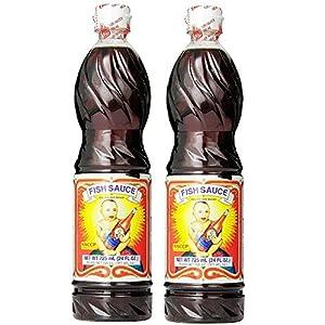 Golden Boy Fish Sauce, 24 OZ bottle, Pack of 2