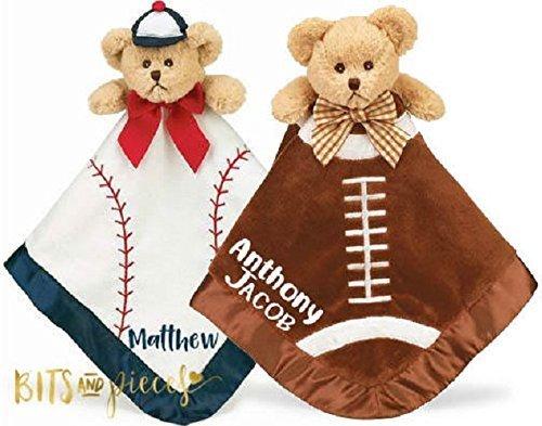 Blankie Personalized - Baby Snuggler Blanket - Personalized Baby Security Blanket - Baby Shower - Newborn - Gift - Blankie - Personalized Baby Gift