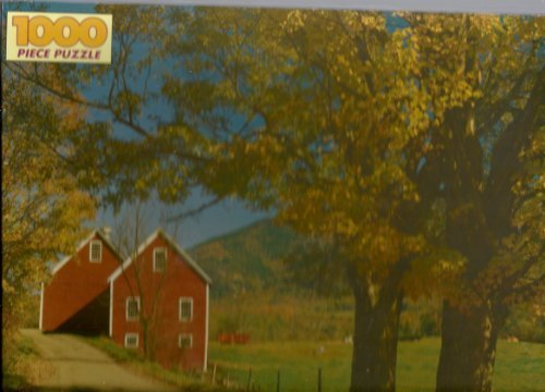 1000pc Jigsaw Puzzle Brownsville, VT by Western Publishing - Stores Brownsville