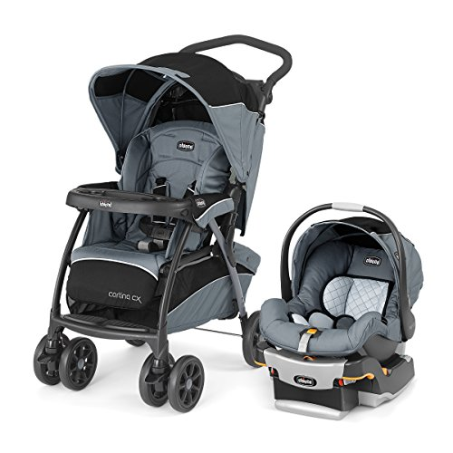 Chicco Cortina CX Travel System, Iron by Chicco