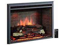 PuraFlame Western Electric Fireplace Ins...