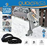 Quadtrek Crampons Quick Strap Traction Cleats Anti