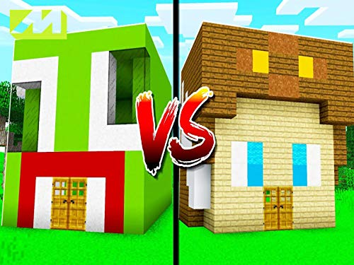 Clip: Unspeakable House Vs Moose House In Minecraft! (Best House To Build In Minecraft Survival)