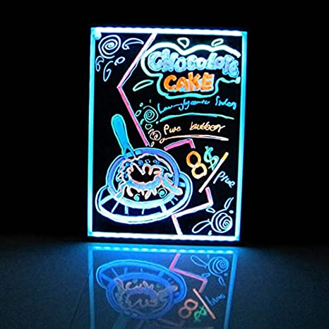 Amazon.com: ElecNova Electronic iluminado luz LED Mensaje ...