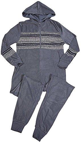 Solid Footed Sleeper Pajamas - 9