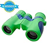 Professional Kids Binoculars with HIGH Magnification - Easy & Shock Proof - Bird Watching Science Toys & Telescope kids toys - hiking hunting gear - Educational for boys and girls