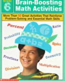 Brain-Boosting Math Activities, Professional Books Staff, 0590065467