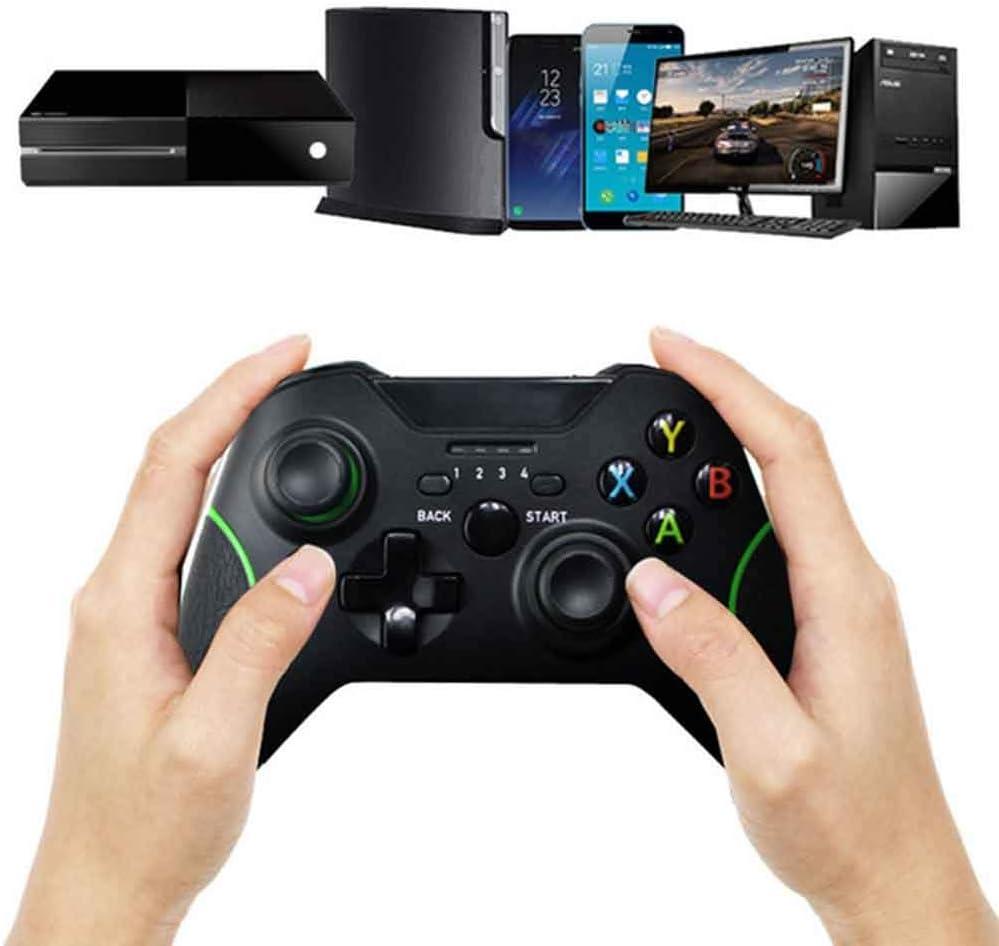 YT Xbox One2.4G inalámbrico Bluetooth mango juego controlador joystick para teléfono móvil PS3 Xbox360 PC todo en uno manija