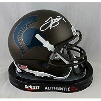 LeVeon Bell Signed Michigan State Spartans Bronze Schutt Mini Helmet- JSA W Auth - Autographed College Mini Helmets photo