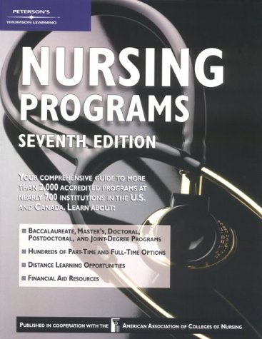 Nursing Programs 2001-2002, 7th ed