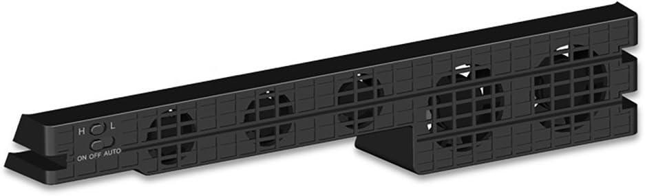 QUMOX Ventilador Turbo Cooler Negro para Playstation 4 Pro PS4 Pro ...
