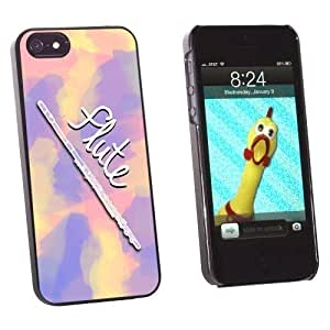 Graphics and More Flute Al Instrument Music Woodwind Snap-On Hard Protective For Iphone 5C Phone Case Cover - Non-Retail Packaging - Black