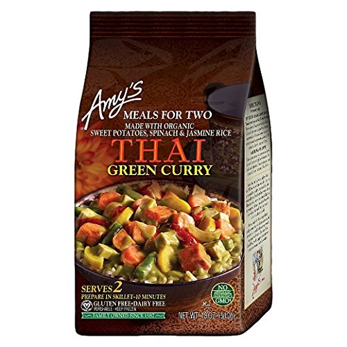 Amy's Thai Green Curry, 18 Ounce (Pack of 6)