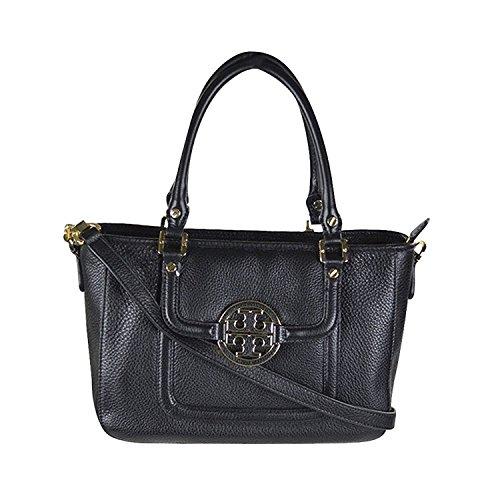 Tory Burch Amanda Mini' Satchel Handbag Black