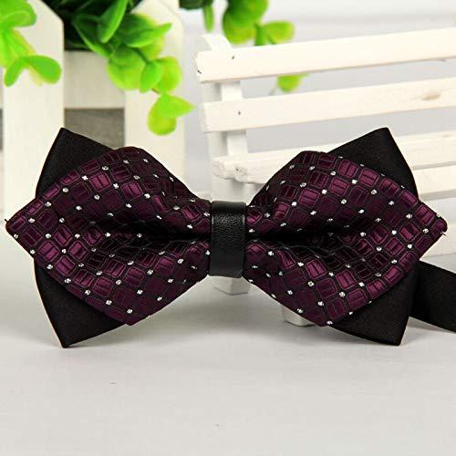 Tie pointed 12cm6cm men tie bow ties 2014 Blue jacquard silk bowties luxury gravatas borboleta bulk lot Wholesale