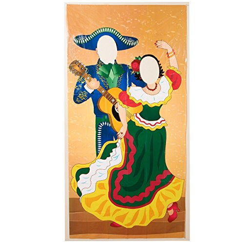 Fun Express Plastic Fiesta Couple