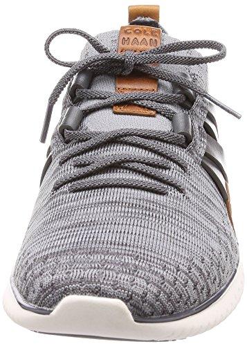 Mens Haan Cole Grandmotion Tessuti Sneaker Con Stitchlite Maglia Magnete-ironstone