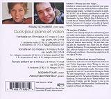 Schubert: Violin Sonata, D.574 / Rondo, D.895 / Fantasie, D.934