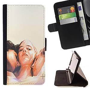 Dragon Case - FOR HTC DESIRE 816 - come on baby - Caja de la carpeta del caso en folio de cuero del tir¨®n de la cubierta protectora Shell