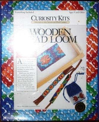 Curiosity Kits Wooden Bead Loom by Curiosity Kits Wooden Bead Loom