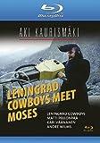 Leningrad Cowboys Meet Moses (1994) [ Blu-Ray, Reg.A/B/C Import - Finland ]