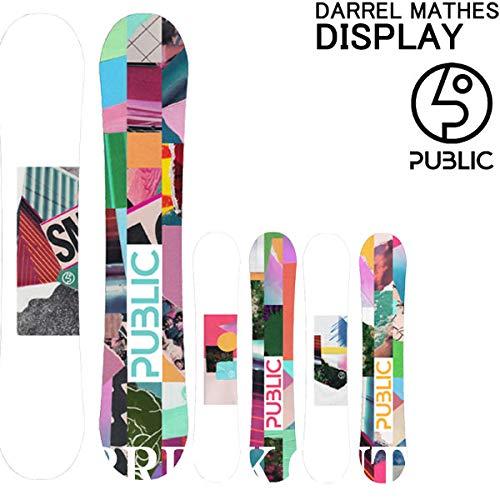 18-19 PUBLIC/パブリック DISPLAY ディスプレイ グラトリ メンズ 板 スノーボード 2019