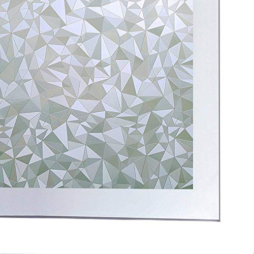 Coavas Window Film Privacy Glue Free Glass Decorative Window Cling Removable Privacy Window Tints for Home and Kitchen,35-inch by 78.7-inch from Coavas