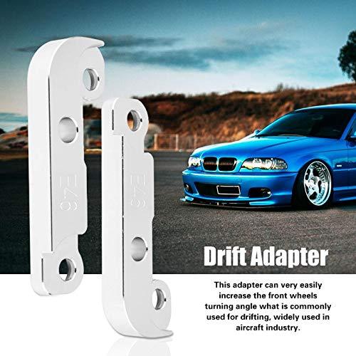 AMZVASO - Power Tuning Drift Lock Adapter Kit Increasing Turn Angle 25 for BWM E46 M3 Transmission & Drivetrain Aluminium