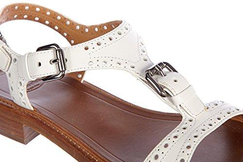 Church's sandalias mujer en piel nuevo prestige blanco