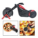 Best Kitchen Tools Pizza Cutters - OFKPO Pizza Cutter Stainless Steel Motorcycle Shape,Pizza Chopper Review
