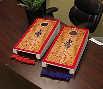 Victory Tailgate Collegiate NCAA Desktop Cornhole Game Set