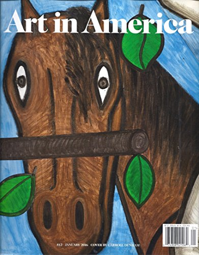 Art in America (January 2016 - Cover By Carroll Dunham)