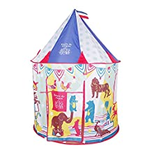 Loisleila Princess Play Tent Playhouse Portable Folading Castle For Kids