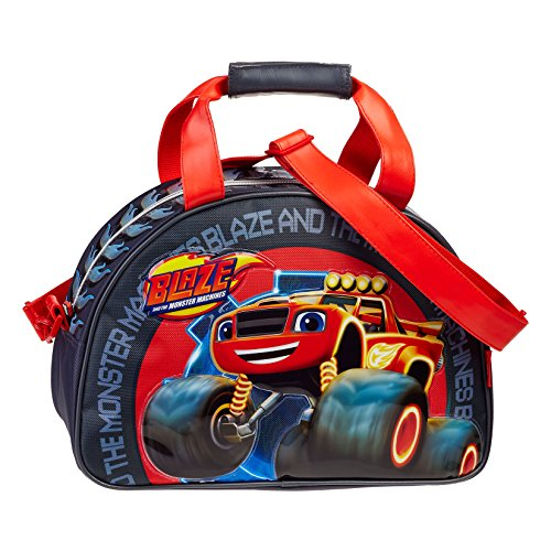 Karactermania Blaze Wheel Kinder-Sporttasche, 38 cm, Grau (Gris)
