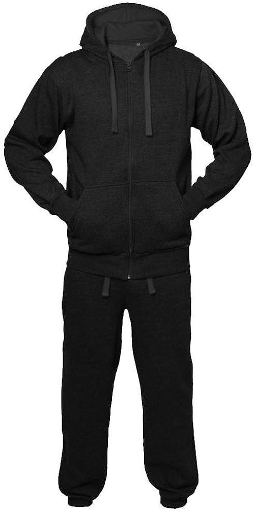 Mymixtrendz/® Set di Pantaloni e Felpa con Cappuccio Tuta Casual per Bambini Unisex