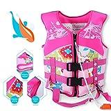 Supfirefly Kids Swim Trainer Vest Pool Floats Neoprene Children Buoyancy Clothing, Swimming Learner Protection Vest