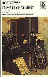 Crime et chatiment vol.2 (Nouvelle édition)