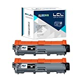 LCL Compatible for Brother TN221BK (2-Pack,Black) Toner Cartridge for Brother HL-3140 CW/3150CDW/CDN/3170 CDW/DCP