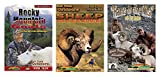 Rocky Mountain Goats, Sheep High Altitude Adventures and Rams in the Mist (3 DVD Set)