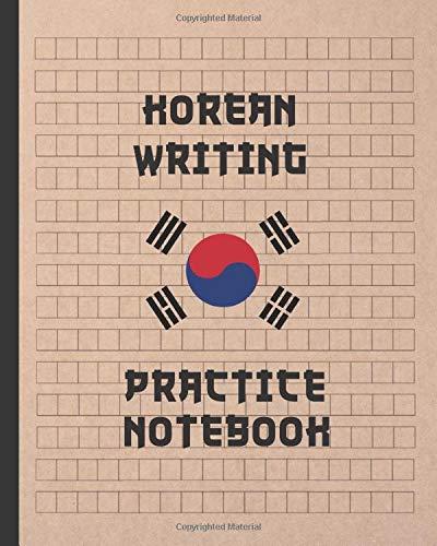 KOREAN WRITING PRACTICE NOTEBOOK  KOREAN HANGUL MANUSCRIPT PAPER BOOK TO WRITE KOREAN CHARACTERS   HANDWRITING   WORKBOOK.